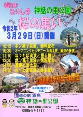 桜オーナー ちらし2020